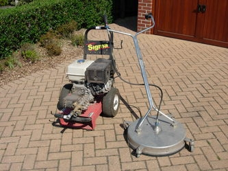 patio cleaning machine